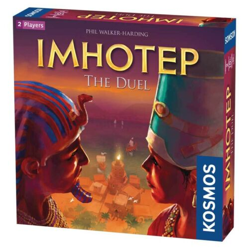 Imhotep Board Game The duel  or A new Dynasty Family Activity Game