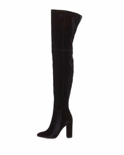 Ronde 16 groot hak knie formaat Zwart 15 17 Handmade dikke over neus de laarzen OTwukXPZi