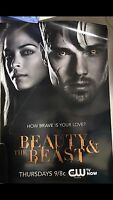Beauty And The Beast Kristin Kreuk Jay Ryan Poster Cw Rare Smallville