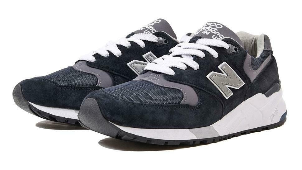 Mens New Balance 999 Made In USA Navy Pewter M999CBL