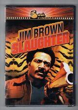 SLAUGHTER new dvd JIM BROWN STELLA STEVENS RIP TORN DON GORDON MARLENE CLARK