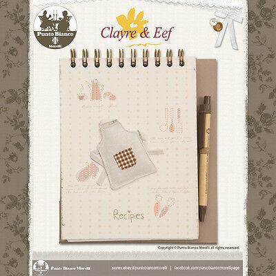 Fiducioso Clayre & Eef | 6pa0078 | Ricettario - Recipe Book | Shabby Chic