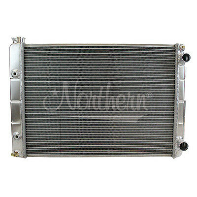 Northern 205182 Double-Pass Aluminum Radiator for 67-69 Pontiac Firebird LS Swap