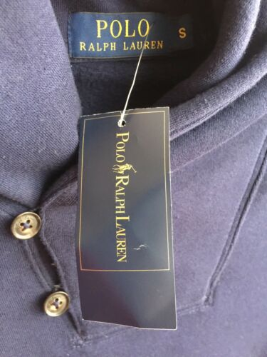 Bnwt Ralph Navy Neck Taglia Jumper Shawl Men's s Lauren 1qwR81va