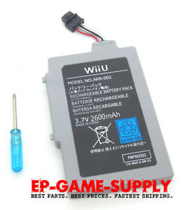 Extended-Battery-Pack-for-Nintendo-Wii-U-Gamepad-2600mAh-3-7V-Rechargeable