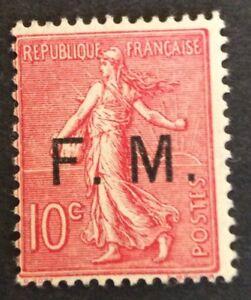 France-FM-N-4-10-c-Rose-Neuf-Tres-Frais-TB-Cote-130
