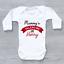miniature 6 - Mummy's Valentine Personalised Baby Grow Bodysuit Vest Valentine's Day Valentine