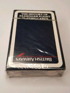 British-Airways-Sealed-Pack-of-Playing-Cards-Transportation-Air-Travel