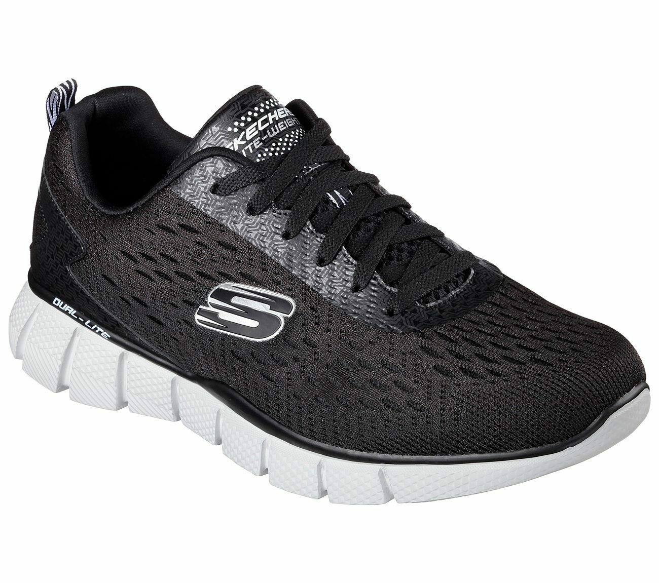 New Mens Skechers Equalizer 2.0 Settle The Score Shoe Style 51529 Blk/Gry 98u dr Cheap and beautiful fashion