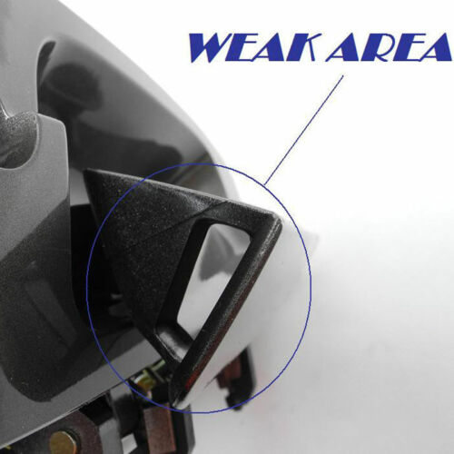 For 02 03 04 05 06 NISSAN ALTIMA Outside Door Handle Rear Left BW9 BLUE B3761