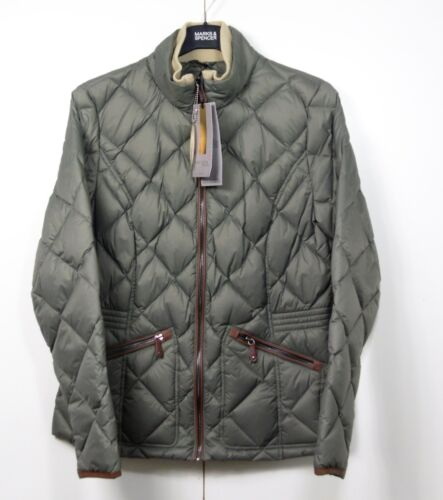 PER UNA Lightweight DOWN /& FEATHER Quilted STORMWEAR JACKET ~ 8 or 10 ~ SAGE