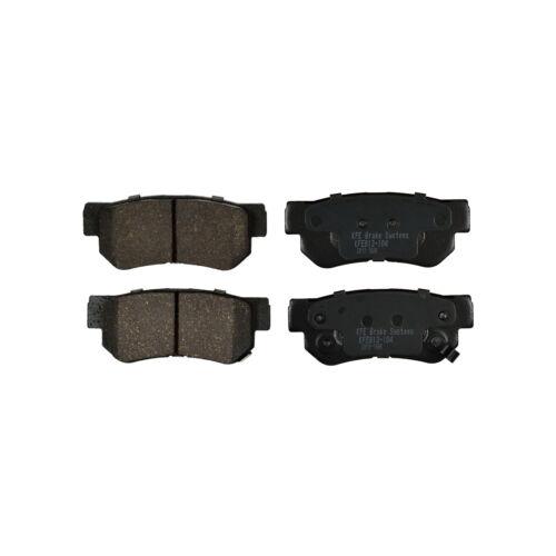 REAR NEW Premium Ceramic Disc Brake Pad Set With Shims KFE924 KFE813 FRONT