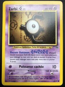 Verzamelingen Carte Pokemon ZARBI E 67/75 Commune Néo Discovery Wizard FR NEUF Pokémon