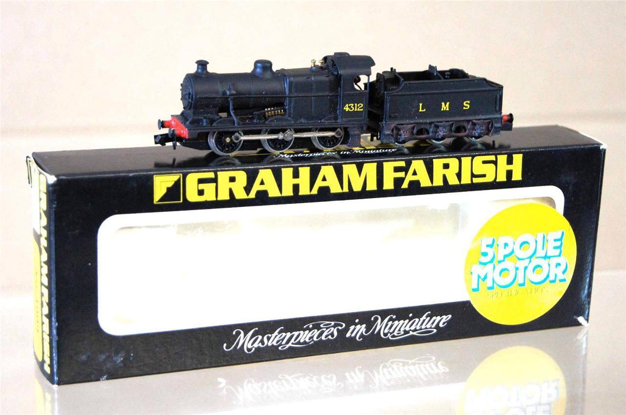 GRAHAM FARISH 1809 LANGLEY KIT BUILT LMS 0-6-0 FOWLER CLASS 4F LOCO 4312 MIB mz