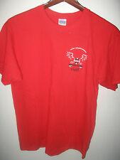 San Jose California Volleyball Invitational 2008 Tournament Staff T Shirt Large