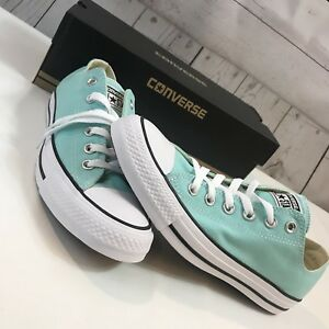 462baeebd527 Converse CT All Star Aruba Blue Sneaker 130118F Unisex Shoe Size W ...