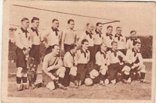 TEAM FOOTBALL GERMANY 1931 SPORT CARD IMAGE 30s