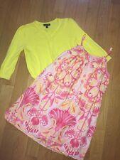 Gap Kids Dress Core Pink Yellow 10 12 14 16 Cardigan Set George Girls