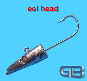 Meeresjig-eel-Heads-60g-120g-VMC-7161-6-0-8-0-Jig-Jigkopf-Jighaken-Bleikoepf