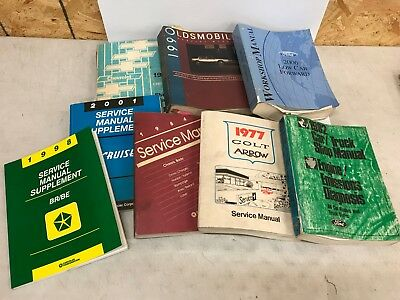 Assortment Lot of Automotive manuals Wiring Diagrams Chevy Ford Oldsmobile  Books   eBayeBay