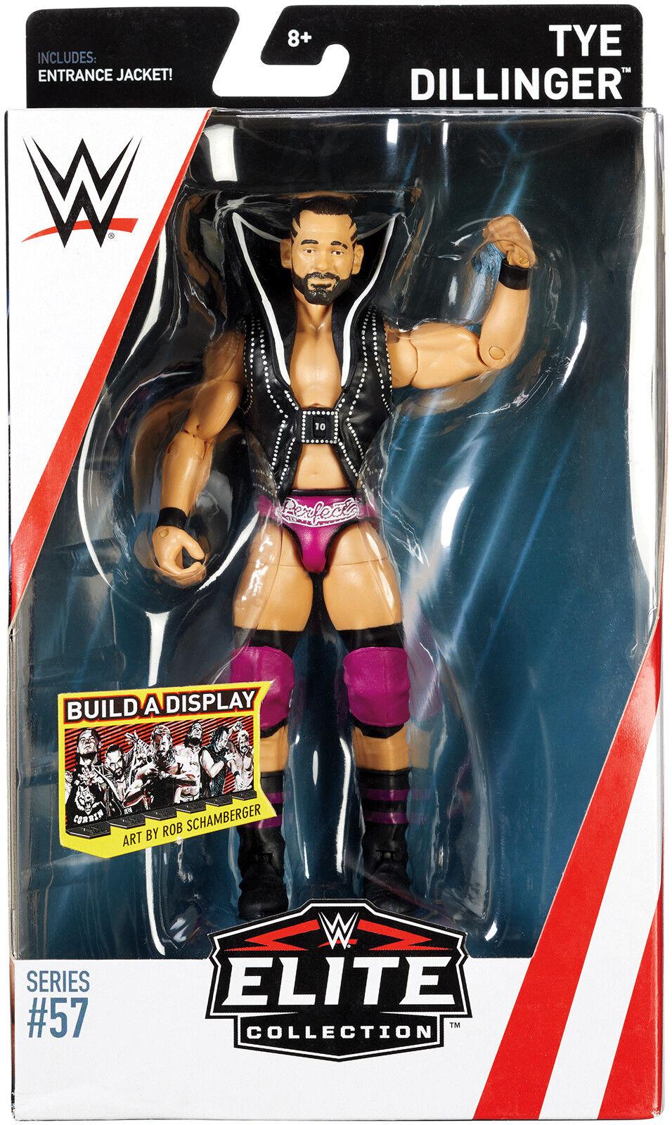 Wwe Mattel Serie 57 Aktion Wrestling-Figur Tye Dillinger 10 Nxt Zubehör
