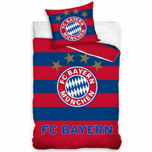Fc Bayern Munich Stripe Single Duvet Cover Set Cotton Bedding Boys For Sale Online Ebay