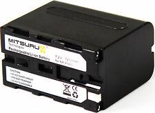 Mitsuru® 7200mAh Akku für Sony NP-F960 NPF960