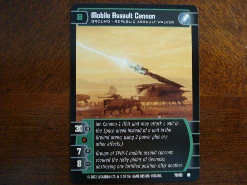 Star Wars TCG SR x8 Mobile Assault Cannon