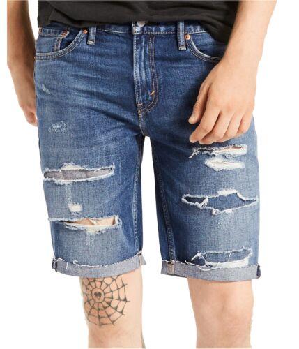 Levi/'s Mens 511 Cut-Off Casual Denim Shorts