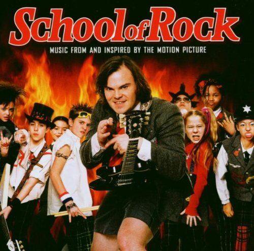 1 of 1 - School Of Rock - School Of Rock  [Music From And Ins... - School Of Rock CD QMVG