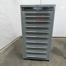 11 Drawer Industrial Parts Tool Storage Shop Cabinet 28 14x28x59 12