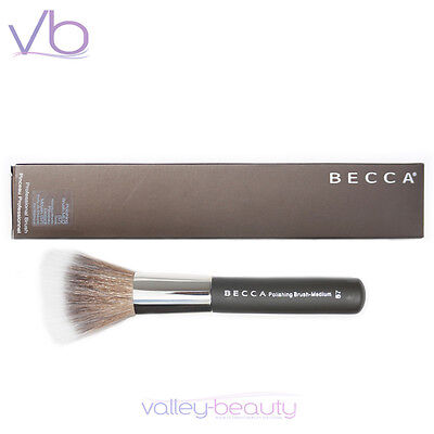 BECCA Polishing Brush Medium #57 New in Box, Handcrafted, Finest Quality