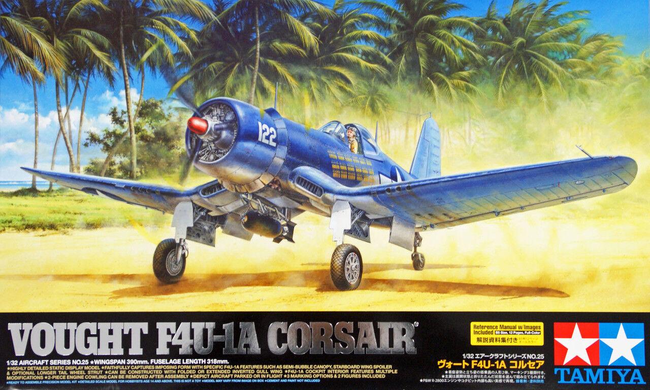 Tamiya 60325 Vought F4U-1A Corsair Corsair Corsair 1 32 scale kit 777028