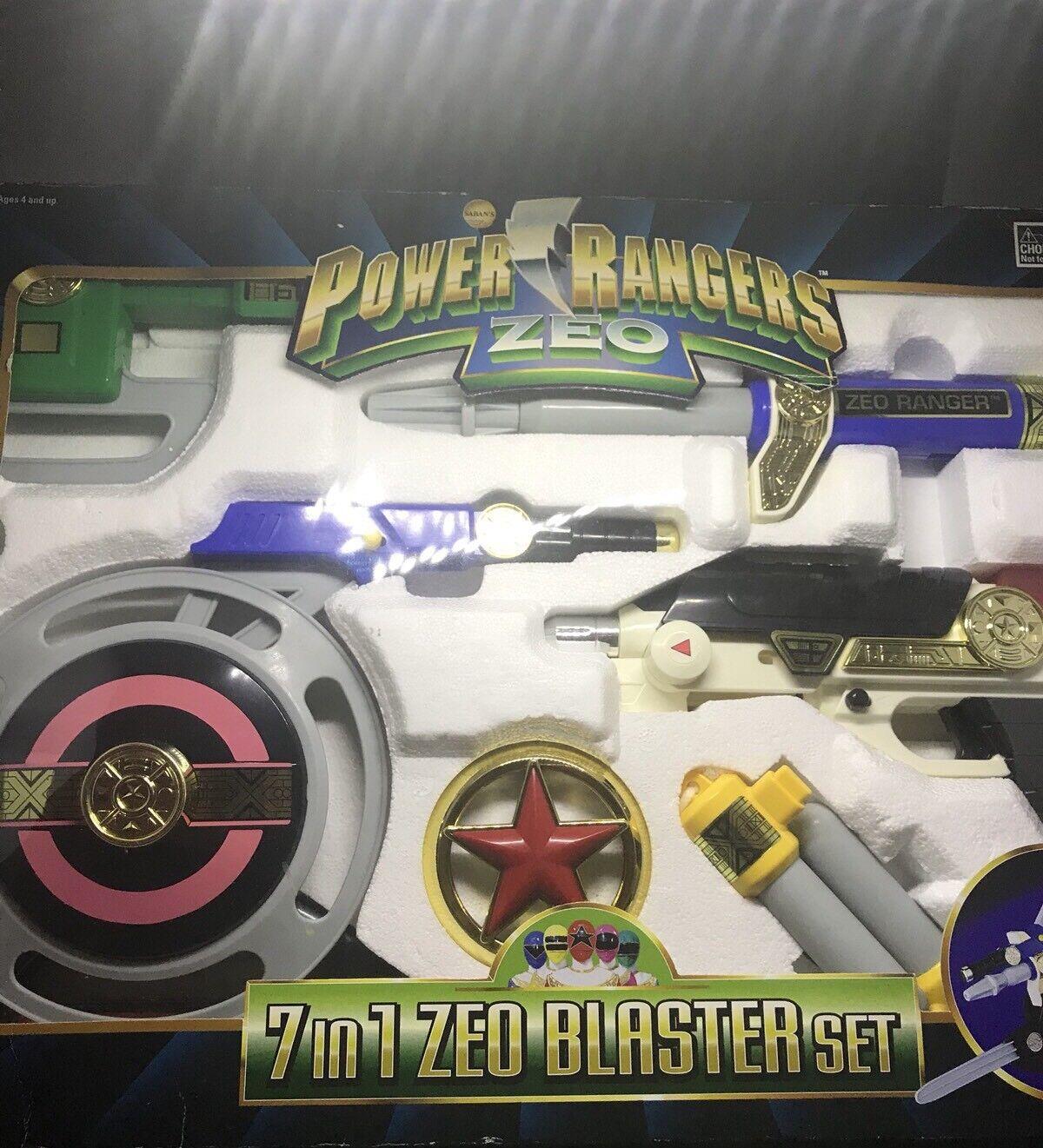Energia  Rangers Zeo Blaster Set  molto popolare