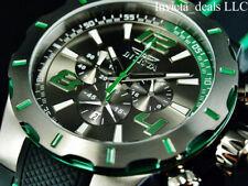 Invicta Mens 53mm S1 Rally Turbo Chronograph Gunmetal Dial Blackgunmetal Watch