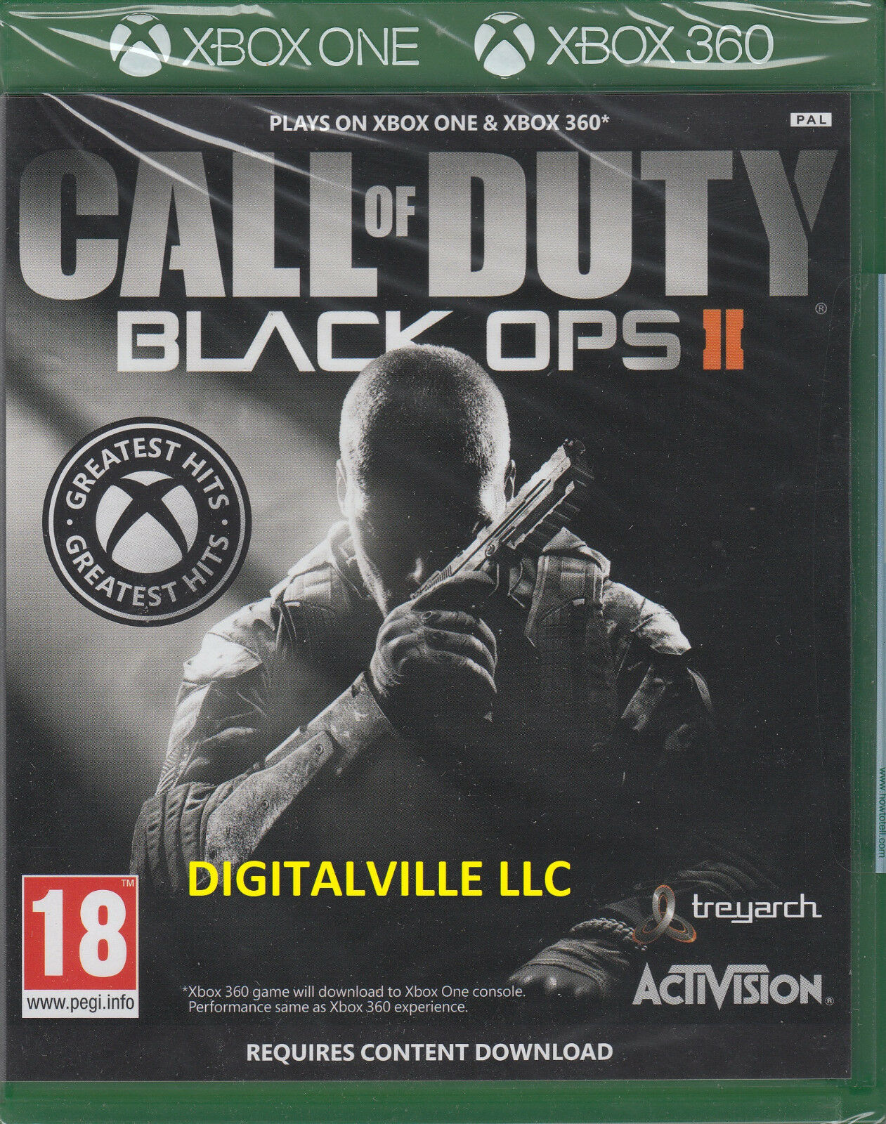Call Of Duty Black Ops Ii Digital Download Card For Xbox 360 For