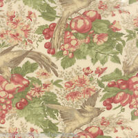 Moda Fabric Country Orchard Blackbird Designs (2750 17) By The 1/2 Yard