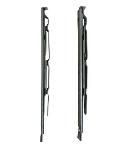 Nico 300 mm côté Hung friction Charnière 17 mm hauteur de la cheminée paire