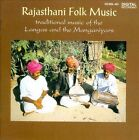 Rajasthani Folk Music: Traditional Music of the Langas and the Manganiyars by Various Artists (CD, 1992, Saydisc)