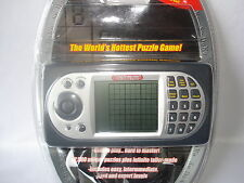 SUPER SU DOKU PLUS HAND HELD ELECTRONIC PUZZLE GAME-  IN ORIGINAL PACKAGE