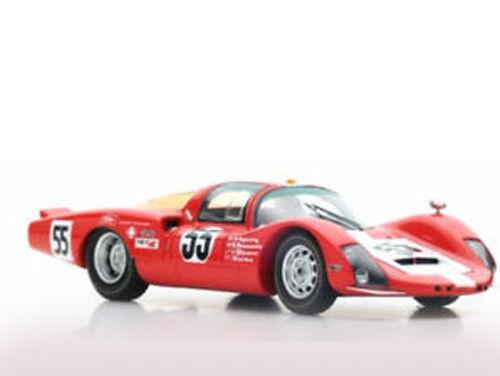 Spark Model S5602 Porsche 906 LH n.55 5th 24H of Daytona 1967 1/43 NEW