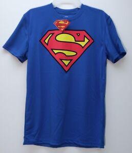 8928453bd NWT - BIOWORLD Men's SUPERMAN LOGO Royal Blue S/S T-SHIRT - XL   eBay