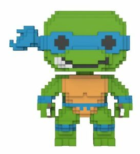 Film, Tv & Videospiele Aufsteller & Figuren 100% Wahr Teenage Mutant Ninja Turtles 8-bit Pop Vinyl Figur Leonardo 9 Cm Neu & Ovp