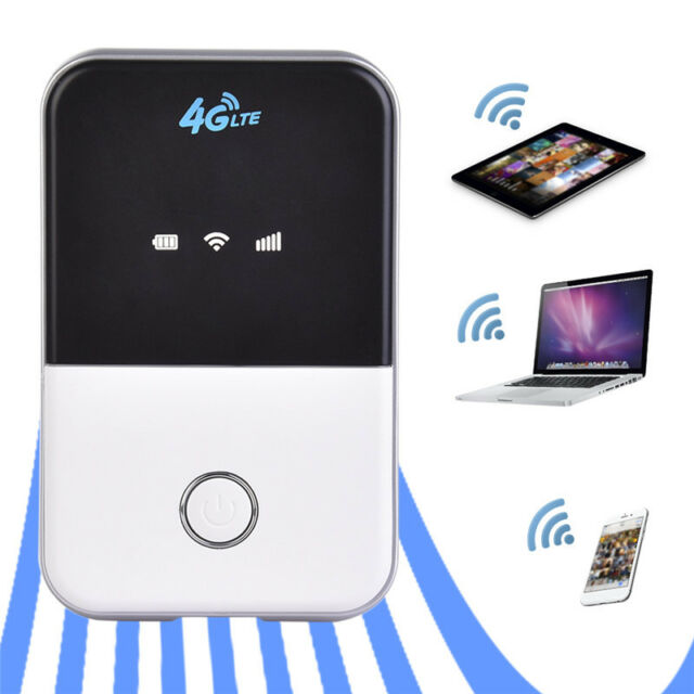 Portable 4G Router LTE Wireless Router Car Mobile Wifi Hotspot SIM Card Slot SP