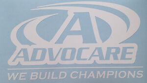 White AdvoCare Decal Window Sticker Vinyl X EBay - Advocare car decal stickers