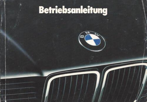 BMW e32 manuale 1993 7er manuale istruzioni 730 740 750 BA