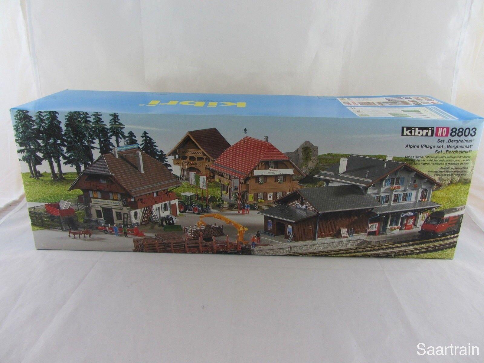 Kibri 8803 kit set Montaña natal con la estación 1 87 nuevo y con embalaje