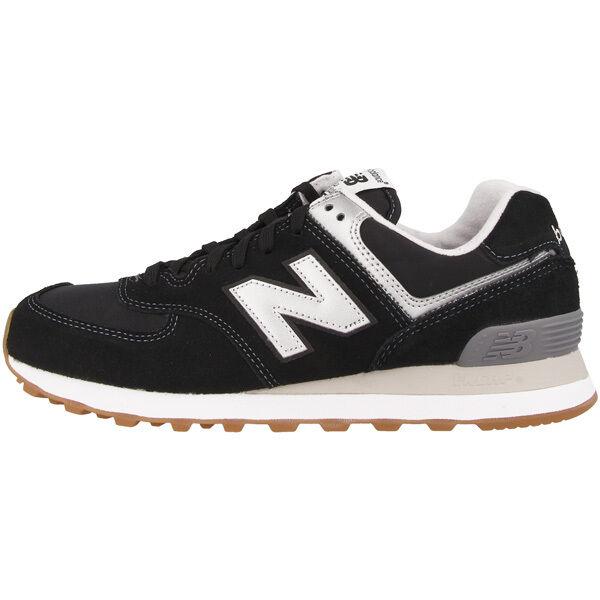 Zapatos promocionales para hombres y mujeres New Balance ML 574 HRM Schuhe black grey ML574HRM Sneaker schwarz grau 373