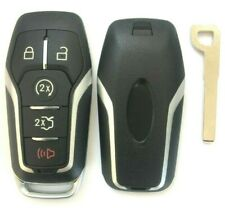 Remote Key Fob Uncut Shell Case For 2015 2017 Ford F 150 Explorer Edge Fusion Fits Ford