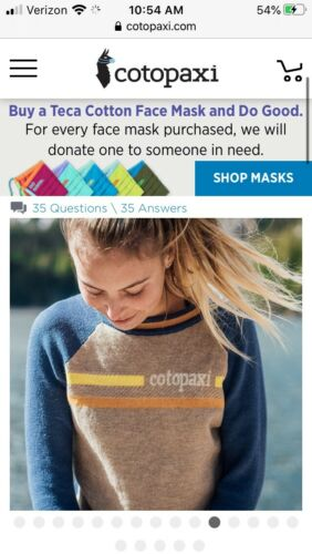 Cotopaxi Libre Sweater In Sunrise - Sold Out Women
